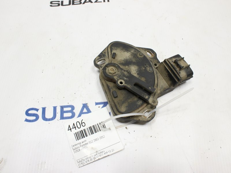 Селектор акпп Subaru Forester S12 2002