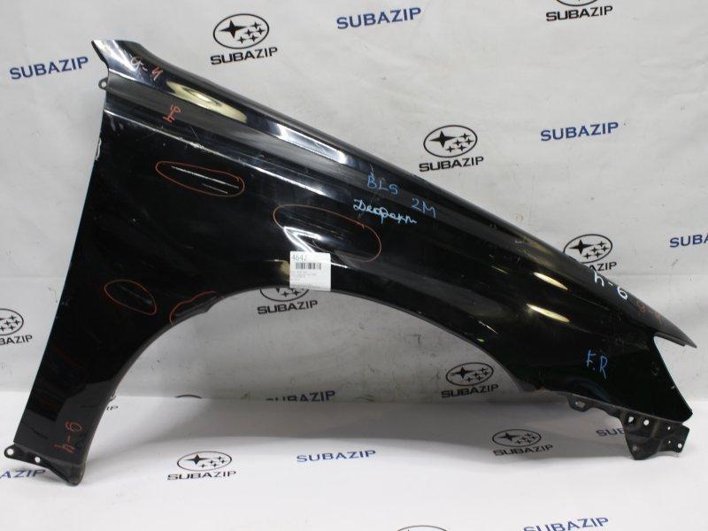 Крыло Subaru Legacy B13 2007 переднее правое