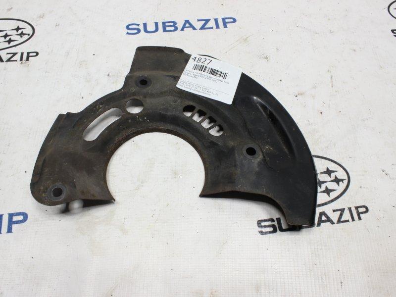 Пыльник тормозного диска Subaru Legacy B12 1998 передний правый