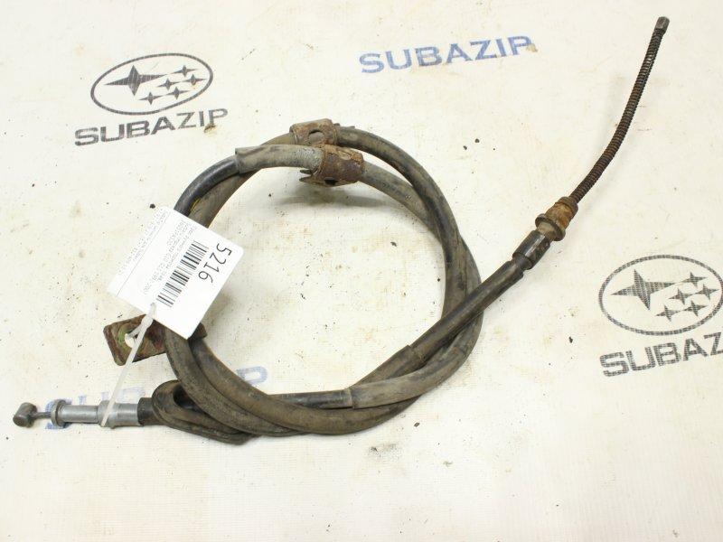 Трос ручного тормоза Subaru Impreza G10. G11 1992 правый