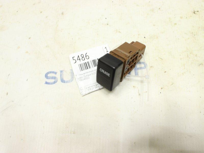 Кнопка включения круиз контроля Subaru Outback BE EJ251 1999