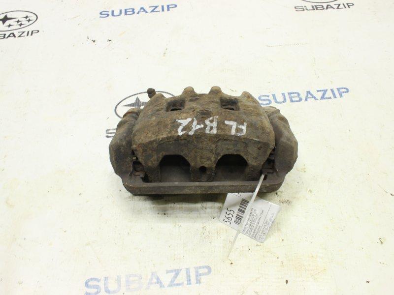 Суппорт тормозной Subaru Outback BE EJ251 1999 передний левый