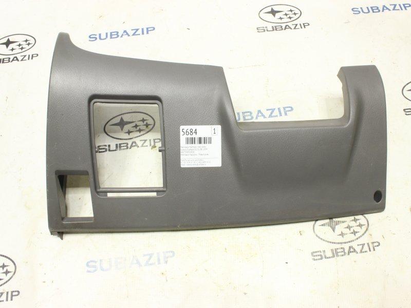 Накладка торпедо Subaru Outback BE EJ251 1999 левая нижняя