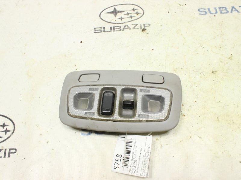 Управление подсветкой салона Subaru Outback BE EJ251 1999 переднее