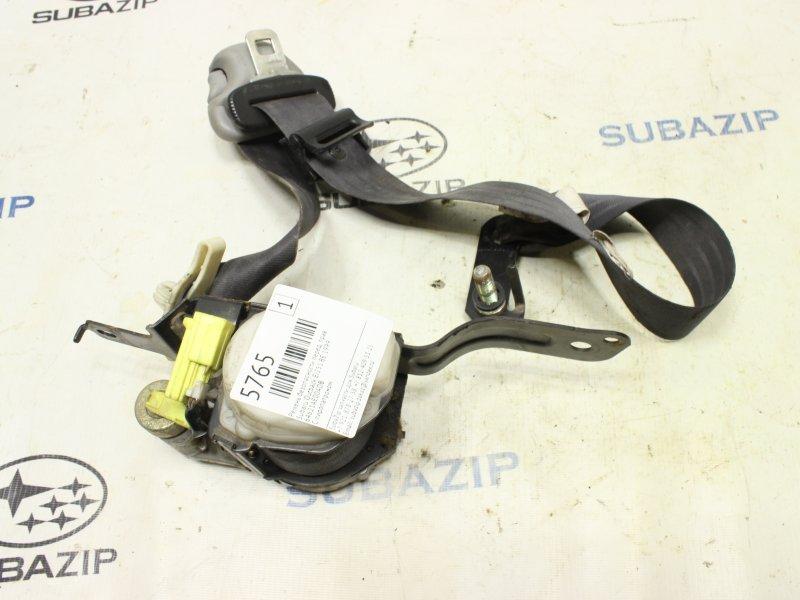 Ремень безопасности Subaru Outback BE EJ251 1999 передний правый