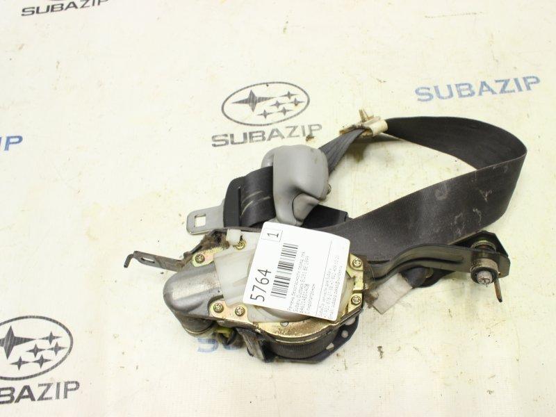 Ремень безопасности Subaru Outback BE EJ251 1999 передний левый