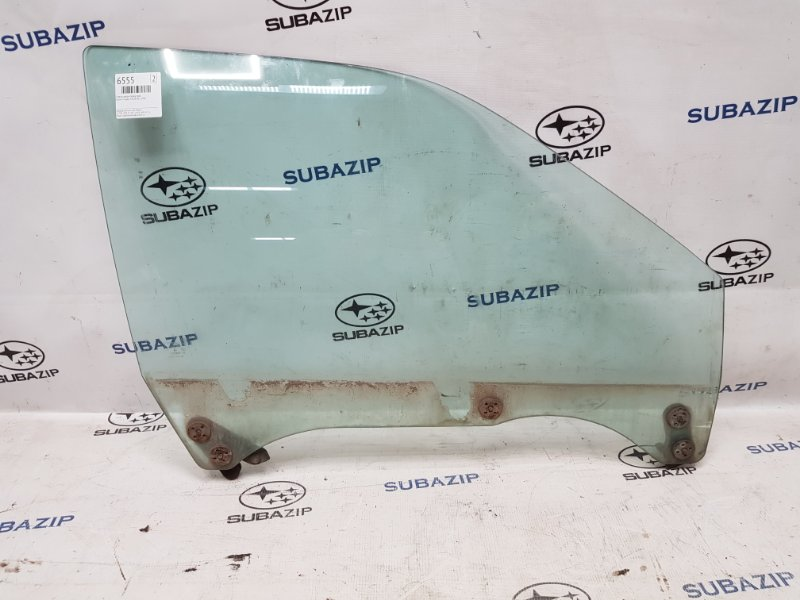 Стекло двери Subaru Legacy B11 EJ22E 1996 переднее правое