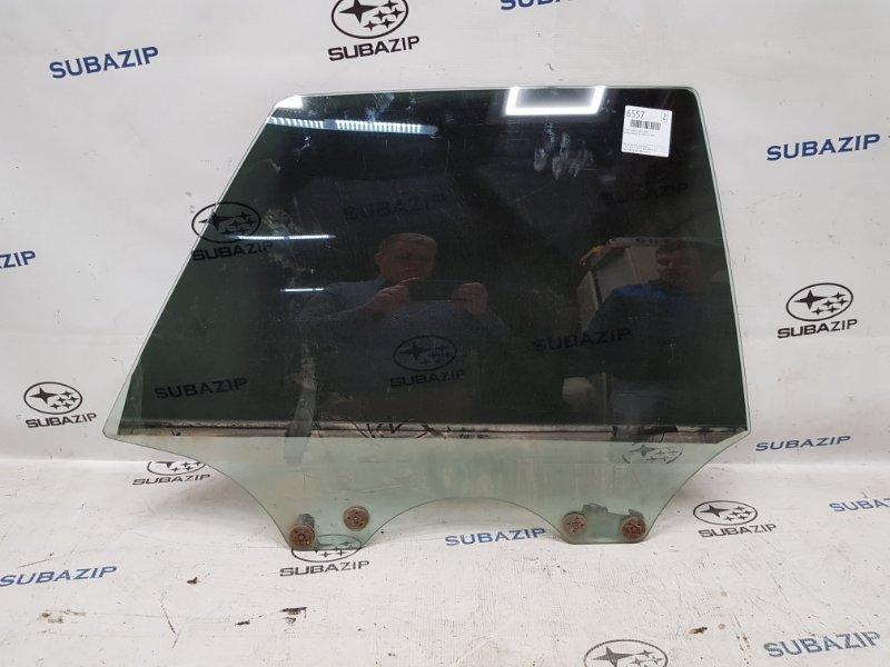 Стекло двери Subaru Legacy B11 EJ22E 1996 заднее правое