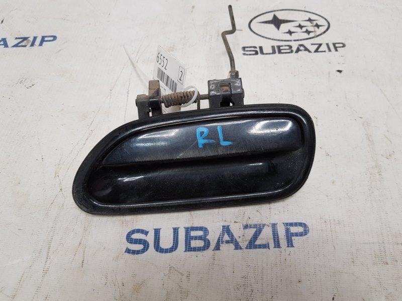 Ручка двери Subaru Legacy B11 EJ22E 1996 задняя левая