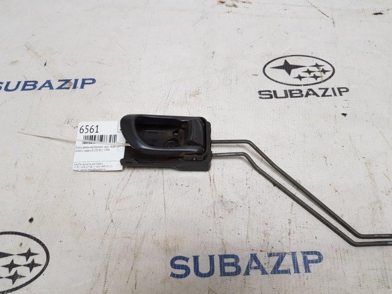 Ручка двери внутренняя Subaru Legacy B11 EJ22E 1996 задняя правая