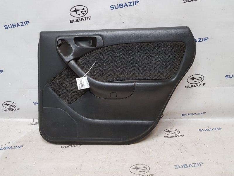Обшивка двери Subaru Legacy B11 EJ22E 1996 задняя правая