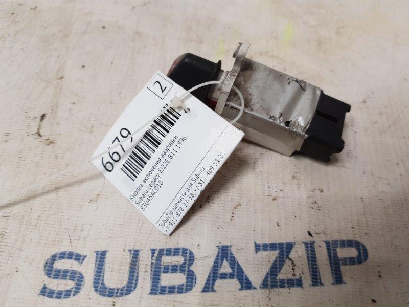 Кнопка включения аварийки Subaru Legacy B11 EJ22E 1996