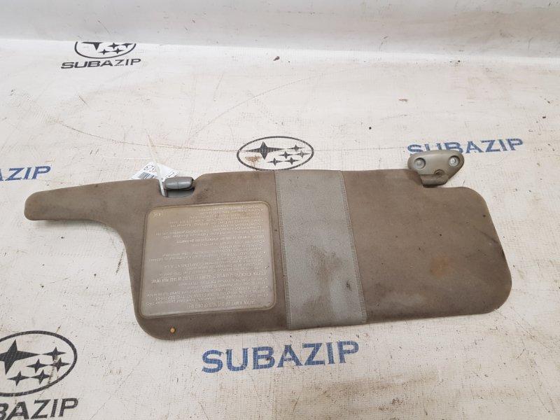 Козырек солнцезащитный Subaru Legacy B11 EJ22E 1996 левый