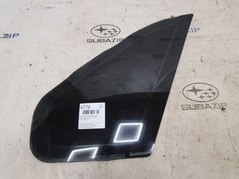 Стекло кузова глухое Subaru Legacy B11 EJ22E 1996 заднее правое