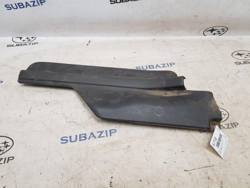 Накладка порога внутренняя Subaru Legacy B11 EJ22E 1996 задняя правая