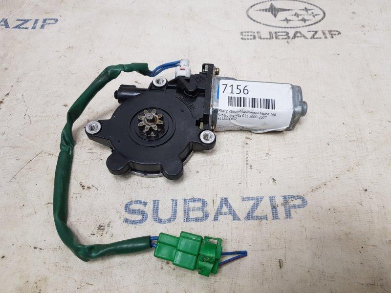 Мотор стеклоподъемника Subaru Impreza G11 2000 передний левый