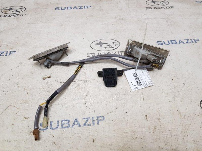 Фонарь подсветки номера Subaru Legacy B13 2003