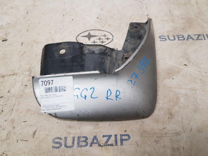 Брызговик Subaru Impreza G11 2000 задний правый