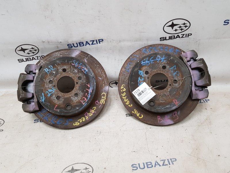 Swap комплект тормозов задний dia 290 Subaru Forester S12 2007 задний