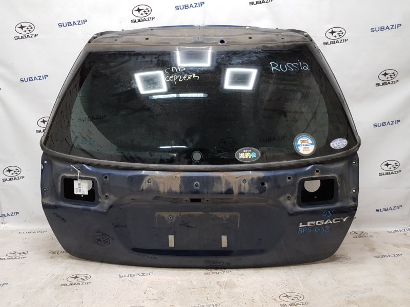 Дверь багажника Subaru Legacy B13 2003