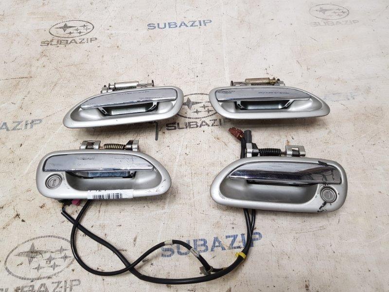 Ручки двери наружные к-т Subaru Legacy B12 1998