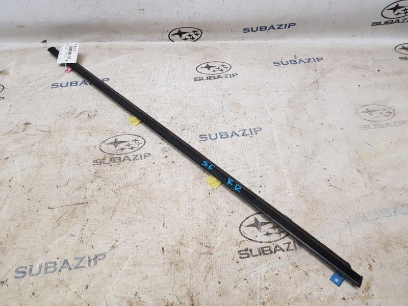 Молдинг стекла Subaru Forester S10 1997 задний правый