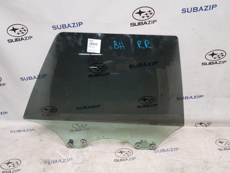 Стекло двери Subaru Legacy B12 1997 заднее правое