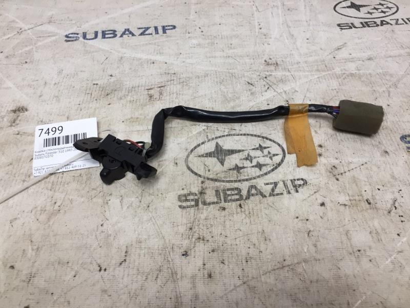 Кнопка стеклоподъёмника Subaru Forester S10 1997 задняя правая