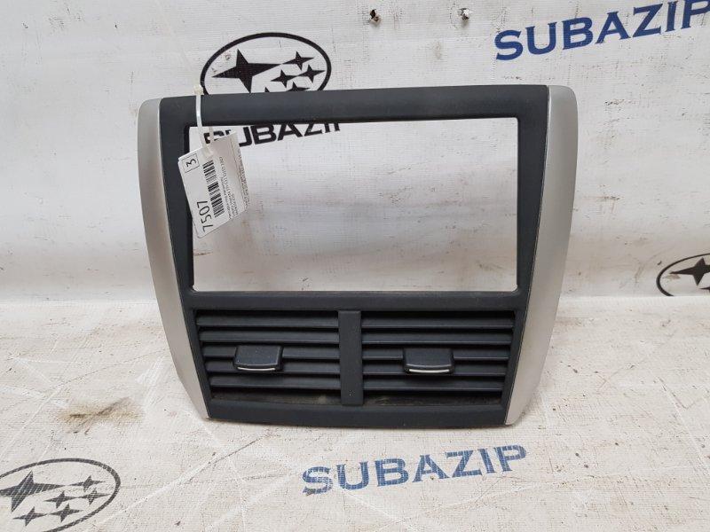 Накладка под магнитолу Subaru Impreza Sti G22 EJ257 2007