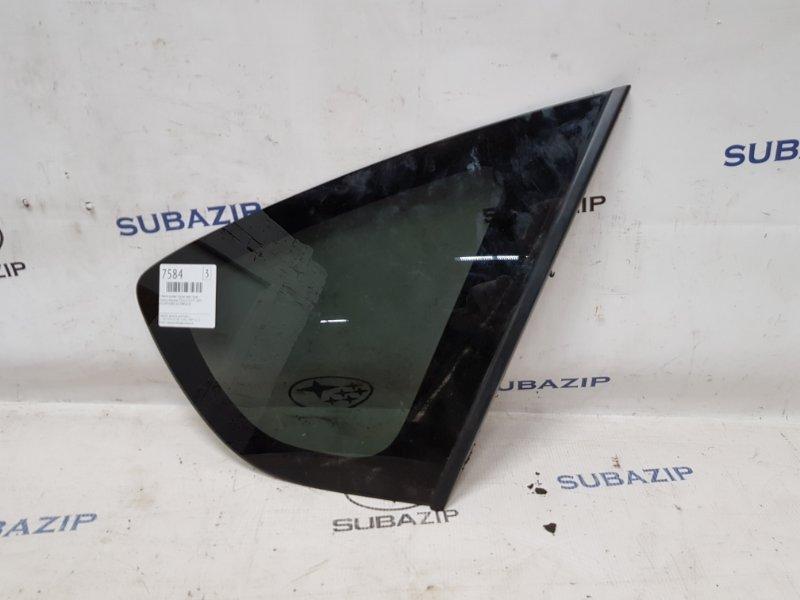 Стекло кузова глухое Subaru Impreza Sti G22 EJ257 2007 заднее правое