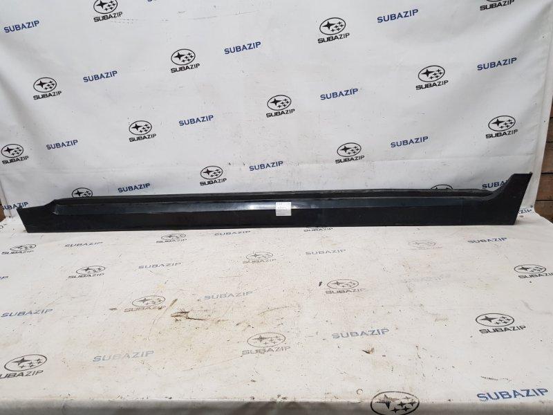 Накладка на порог Subaru Impreza Sti G22 EJ257 2007 левая