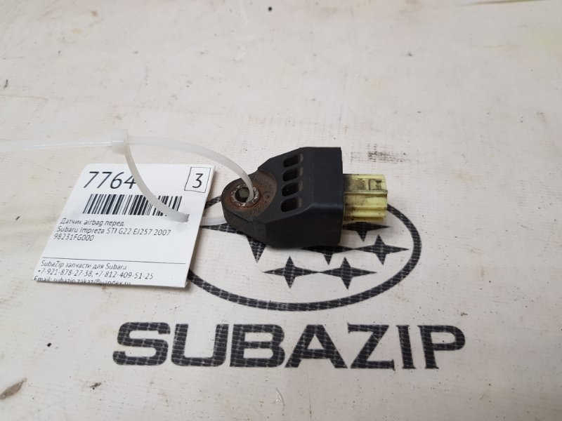 Датчик airbag Subaru Impreza Sti G22 EJ257 2007 передний