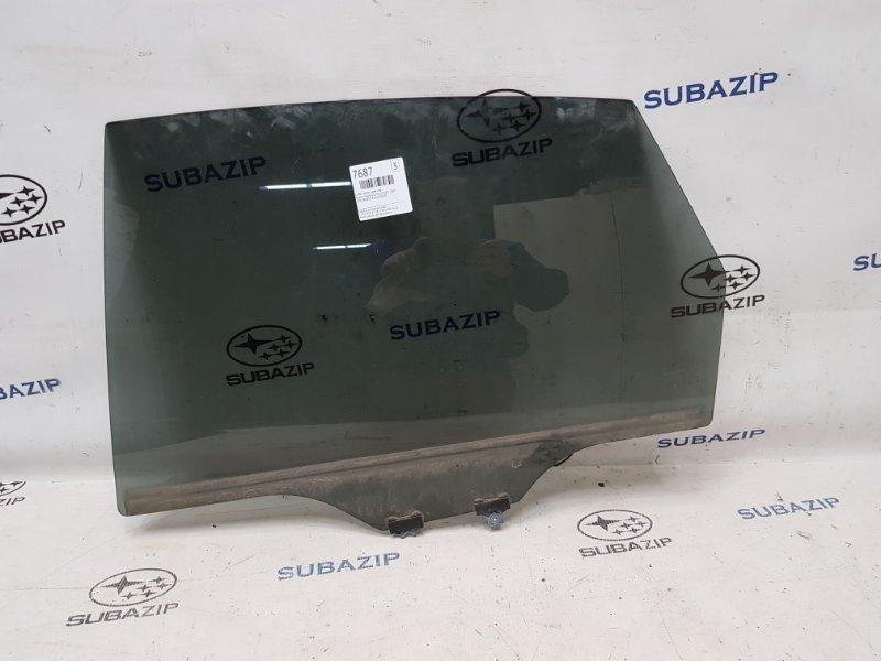 Стекло двери Subaru Impreza Sti G22 EJ257 2007 заднее левое