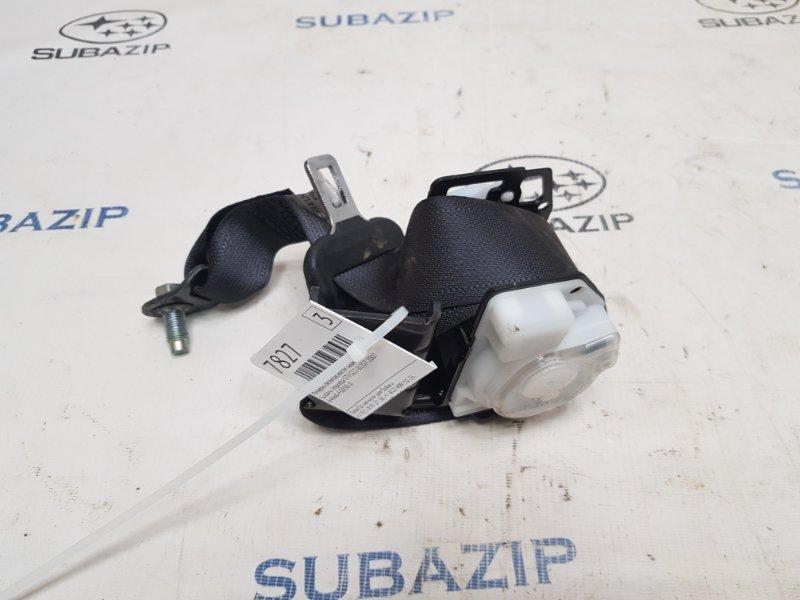 Ремень безопасности Subaru Impreza Sti G22 EJ257 2007 задний левый
