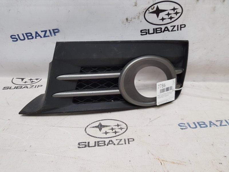 Решетка противотуманной фары Subaru Impreza Sti G22 EJ257 2007 левая