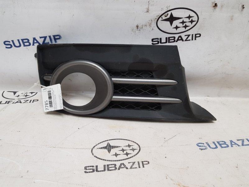 Решетка противотуманной фары Subaru Impreza Sti G22 EJ257 2007 правая