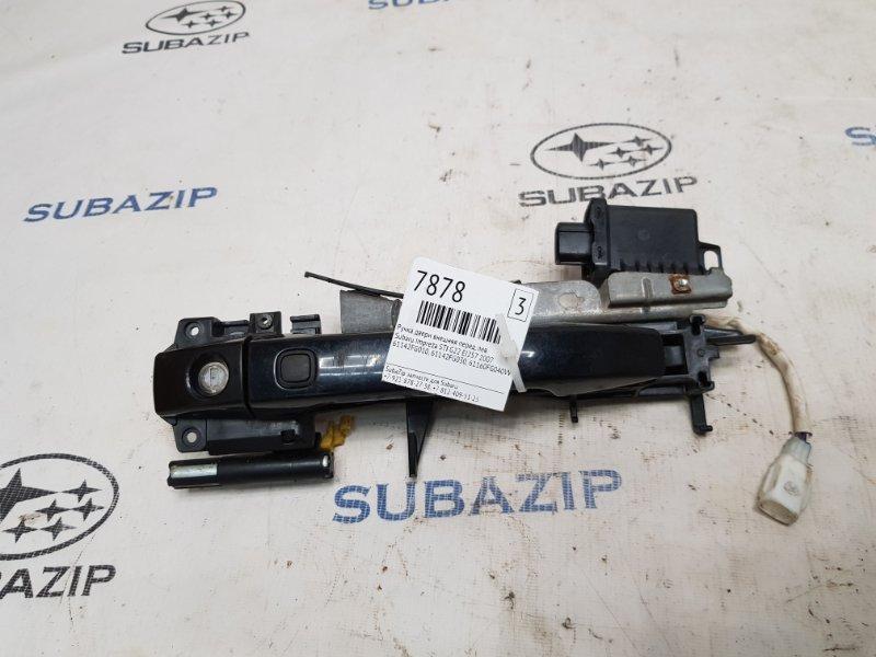 Ручка двери внешняя Subaru Impreza Sti G22 EJ257 2007 передняя левая