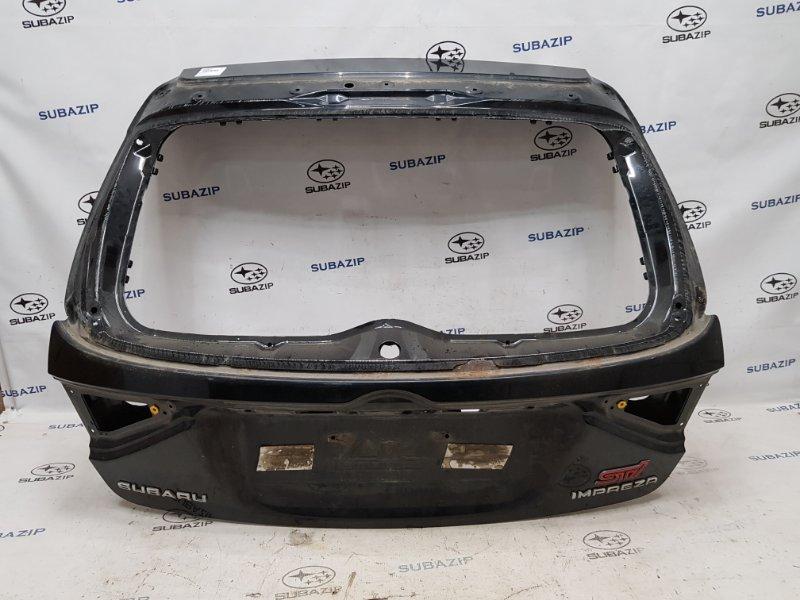 Дверь багажника Subaru Impreza Sti G22 EJ257 2007