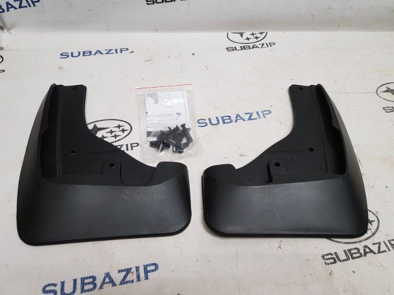 Брызговики комплект Subaru Forester S14 2018 передние