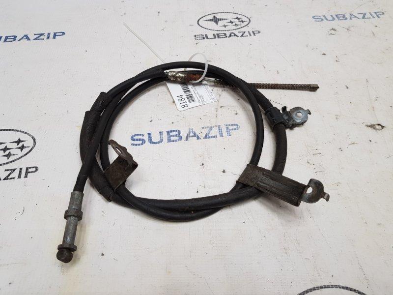Трос ручного тормоза Subaru Legacy B12 1998 левый