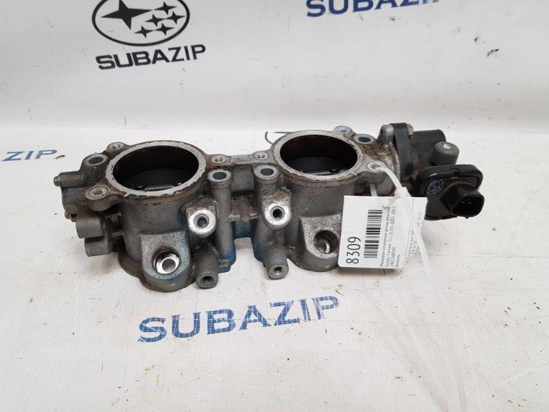 Механизм изменения длины впускного коллектора Subaru Forester S12 EJ205 2003 левый