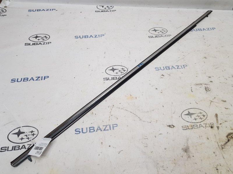 Молдинг стекла Subaru Legacy B14 2009 передний правый