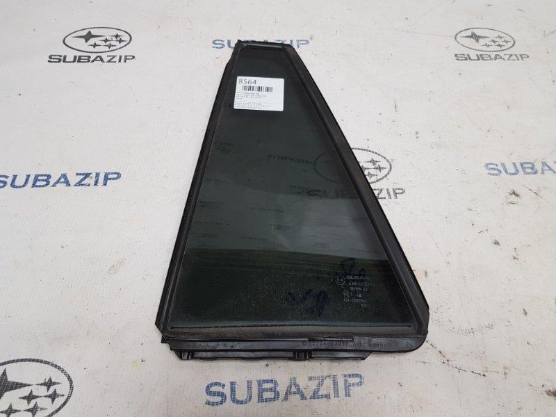 Стекло двери Subaru Legacy B14 2009 заднее левое
