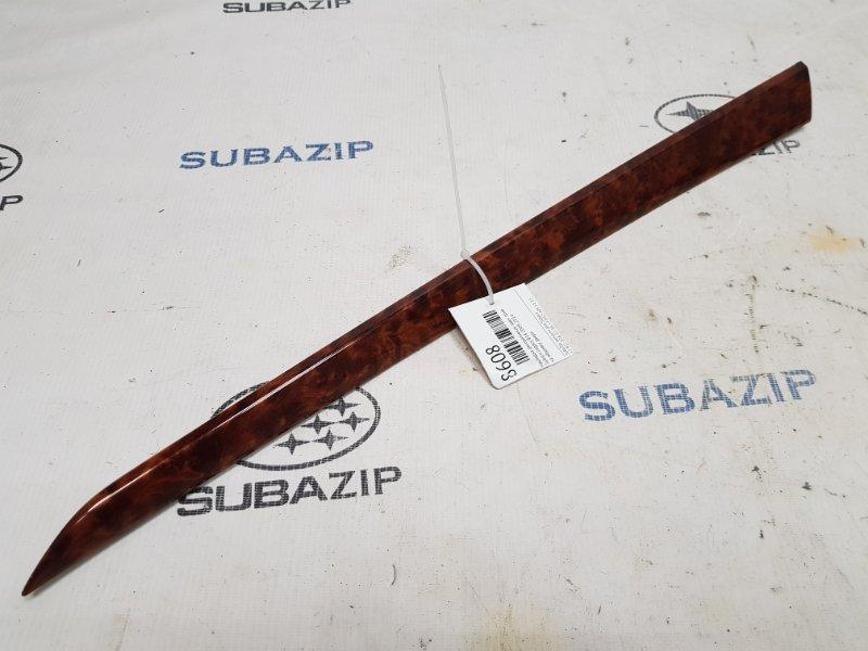 Накладка декоративная Subaru Legacy B14 2009 задняя правая
