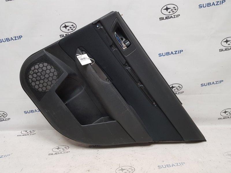 Обшивка двери Subaru Legacy B14 2009 задняя правая