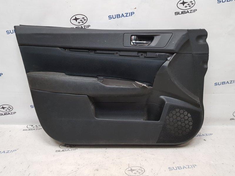 Обшивка двери Subaru Legacy B14 2009 передняя левая