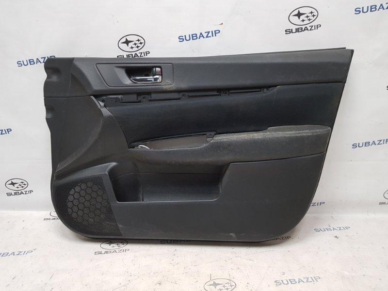 Обшивка двери Subaru Legacy B14 2009 передняя правая