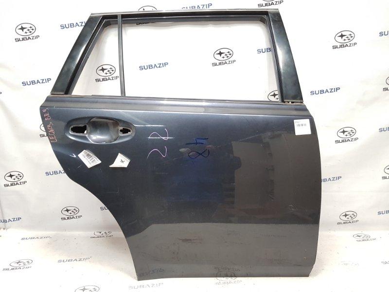 Дверь Subaru Legacy B14 2008 задняя правая