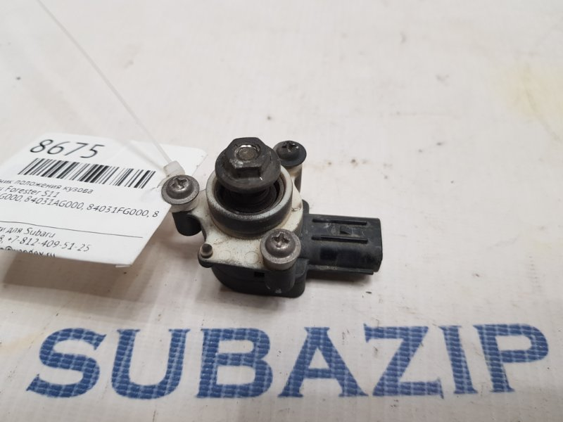 Датчик корректора фар Subaru Forester S11
