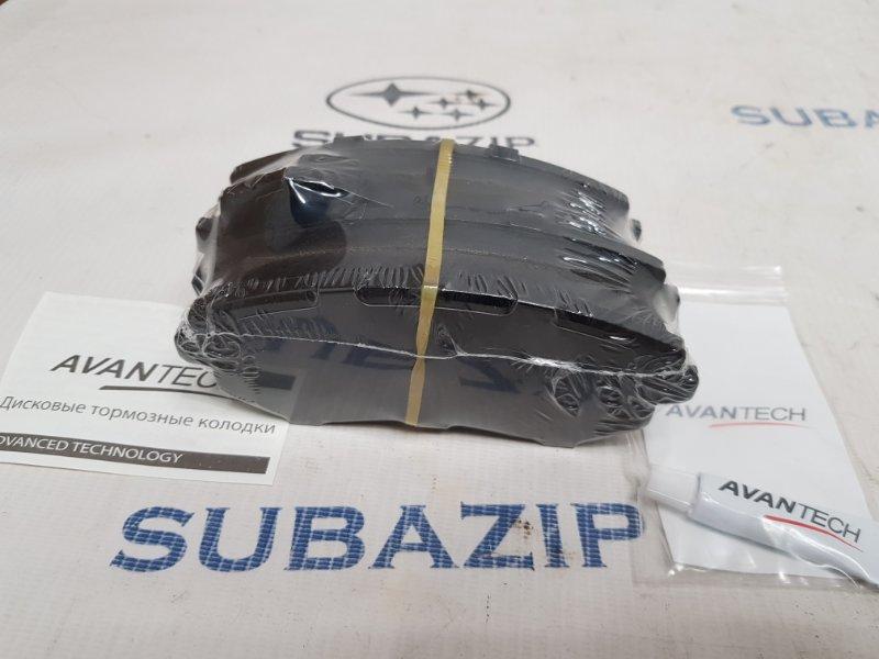 Тормозные колодки Subaru Forester S11 2000 переднее